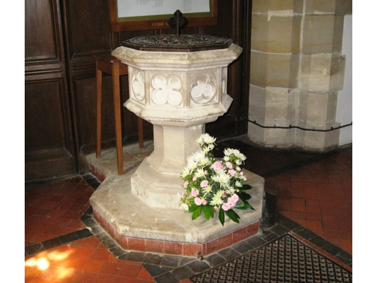 st Mary's font